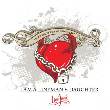 CK1 My Daddy Is A Lineman – Daughter White