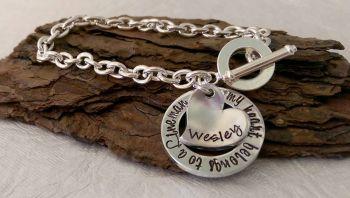 J1 Lock Style Bracelet