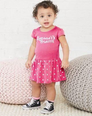 Seeing Dots Linemans Princess Dress