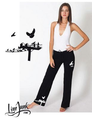 LW30 Bird on Wire Relaxed pants