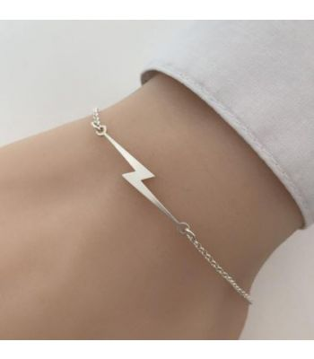 Lightning Bolt bracelet Linear