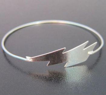 Bolt Banglet Silver