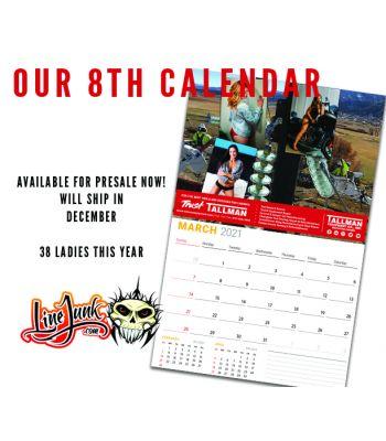 2021 Lineman Calendar