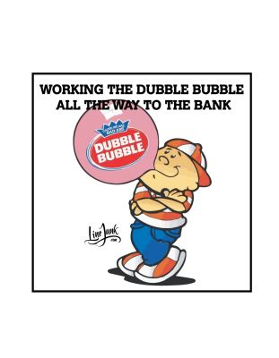 Dubble Bubble Sticker