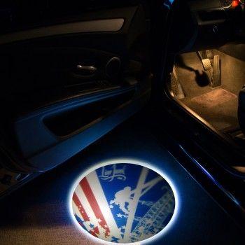 LED DOOR PROJECTOR LIGHTS – LINEMAN FLAG