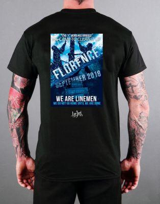Florence Hurricane shirt Lineman