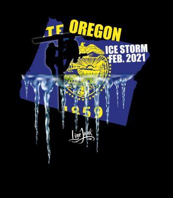 Oregon Ice Storm 2021