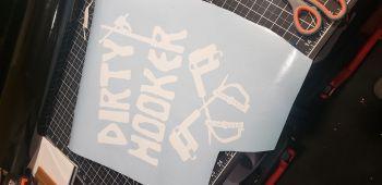 Dirty Hooker Sticker