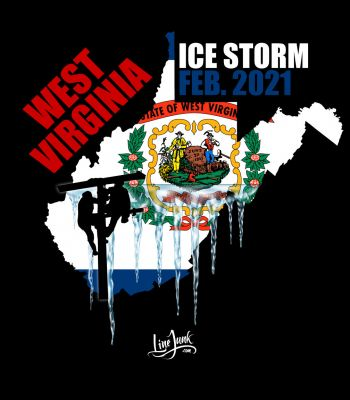 West Virginia Ice Storm 2021